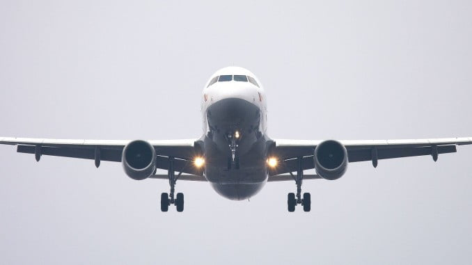El transporte aéreo crece un 7,9% en el mes de junio