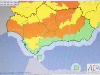 Otra jornada con aviso amarillo en Huelva por altas temperaturas