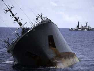 El buque Thunder, uno de los expedientados