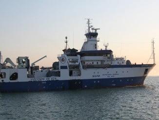 El buque de investigación Vizconde de Eza