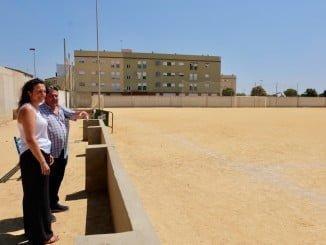 La concejala de Deportes visita las instalaciones con representantes del Club Deportivo Pérez Cubillas