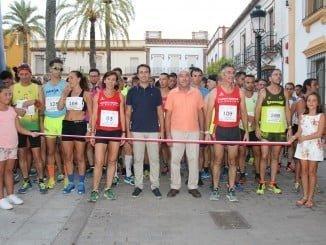 La Carrera Nocturna de La Palma une solidaridad, deporte y devoción