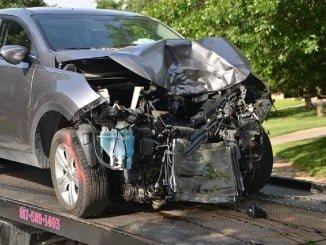 El accidente se ha producido por una colisión frontal entre dos vehículos
