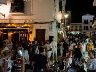 La tercera edición de la Noche en Blanco en Ayamonte ha tenido un gran éxito