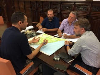 Fiscal se ha reunido con el grupo de trabajo para la recuperación de la zona afectada por el incendio