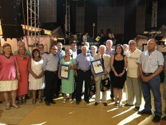 Las Colombinas han vuelto a homenajear a los mayores de Huelva