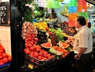 Las ventas de los productos alimenticios crecieron un 2,5% en julio