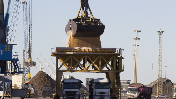 Huelva, a la cabeza de exportación de mineral