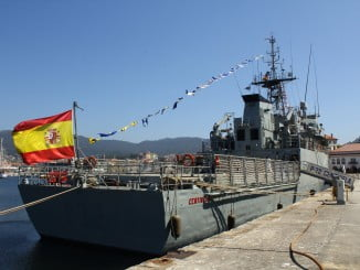 El patrullero 'Centinela' (P-72) atracará en Huelva para realizar una escala de tres días