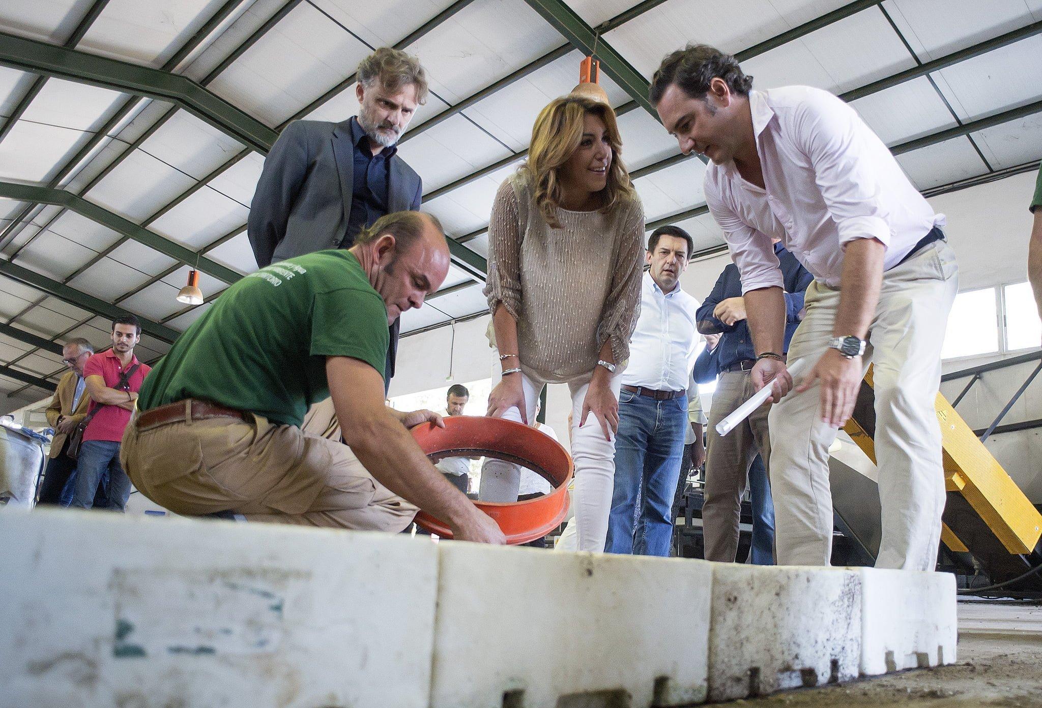 Parte de las semillas que se tratan proceden de la primera actividad de voluntarios en el Espacio Natural de Doñana