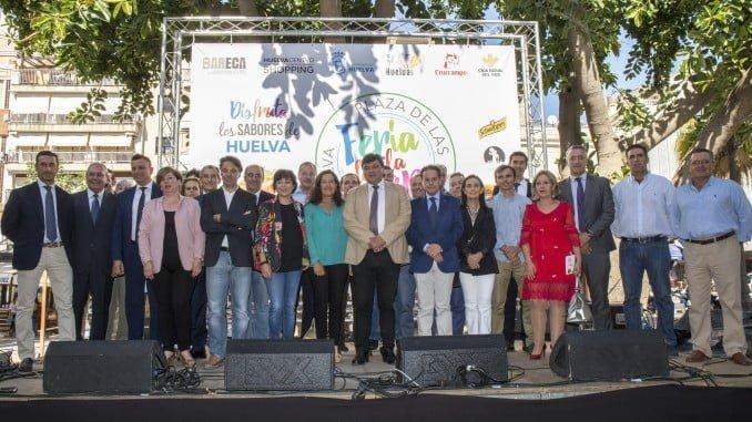 Esta mañana ha quedado inaugurada oficialmente la Feria de la Tapa de Huelva, tras 11 años de interrupción