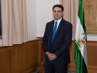 Francisco Javier Fernández, consejero de Turismo de la Junta de Andalucía