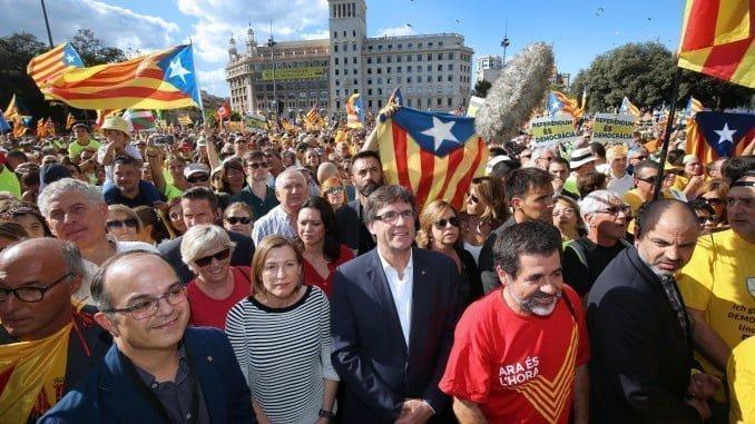 El desafío separatista puede truncar la recuperación económica en España.