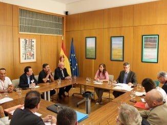 Reunión de Ardiles con AEUAS para analizar el Pacto Nacional del Agua