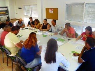Reunión celebrada en el CEFO para definir el XX Plan Agrupado de Formación Continua de la Mancomunidad Islantilla y de los Ayuntamientos de Isla Cristina y Lepe.