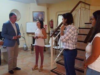 El delegado de la Junta visita el Grupo Educativo de Convivencia.