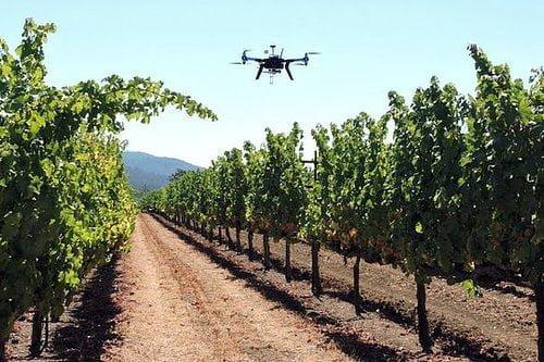 Cita con los drones en agricultura en FIBES.
