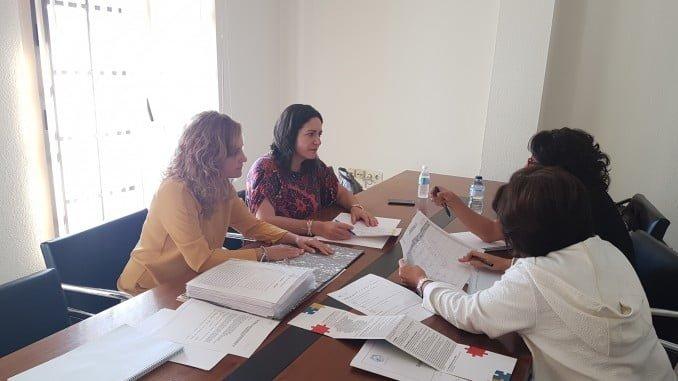 Reunión del Jurado en Diputación de concurso para subvencionar asociaciones.