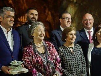 Galardonados en II Gala del Turismo de Aracena.