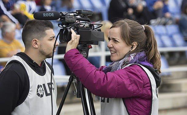 Las cámaras de Teleonuba estarán en Écija para ofrecer el partido del Recre.