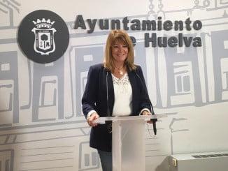 Pilar Miranda, portavoz del PP en el Ayuntamiento de Huelva.