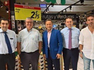 UPA llega a un acuerdo con Carrefour para que los productores locales puedan tener sus productos en esta gran superficie