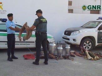 La Guardia Civil ha colaborado estrechamente en esta operación con la GNR Portuguesa