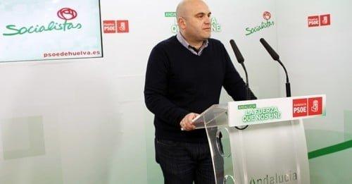 El secretario general del PSOE de Cartaya y portavoz del Grupo Municipal, Alexis Landero