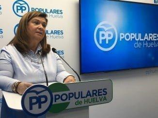 Carmen Céspedes, parlamentaria del PP por Huelva