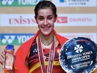 Carolina Marín conquista el cuarto Super Series de su carrera deportiva