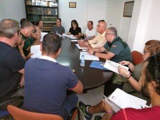 Reunión del Comité de Playas de Lepe para evaluar el verano 2017