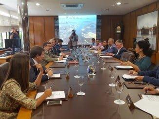 Reunión del Consejo de Administración del Puerto de Huelva