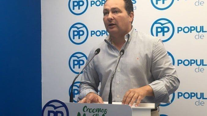 David Toscano, secretario general del PP de Huelva