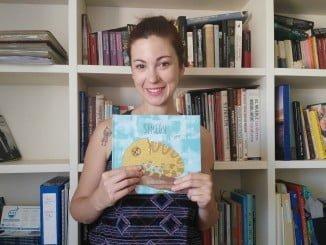 Desirée Acevedo con su nueva propuesta literaria 'Simeón el Camaleón'