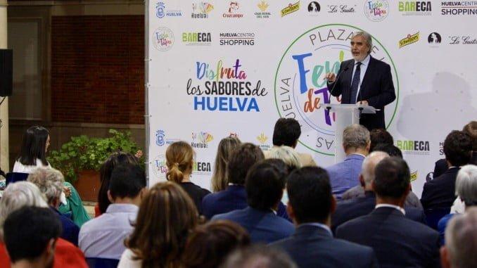 El pregonero Manuel Gaztelu Bueno, de la Academia Andaluza de Gastronomía y Turismo