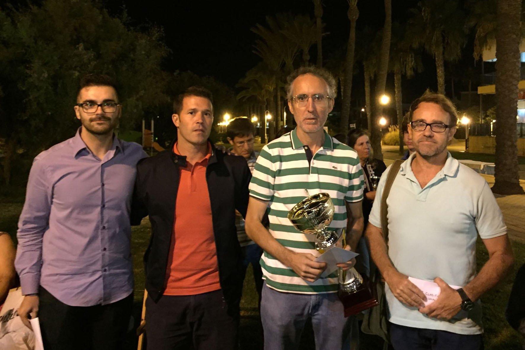 El vencedor general del Circuito, Enrique Biedma