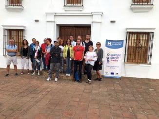 Encuentro en el Huerto Ramírez donde Diputación  pone a disposición de 456 hectáreas de la finca, para la puesta en marcha de actuaciones con los colectivos más jóvenes de nuestro territorio