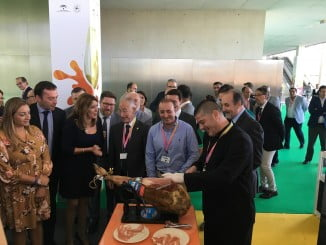 La presidenta de la Junta en la inauguración de Sabor Andaluz