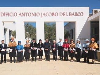 La rectora ha inaugurado oficialmente el curso académico 2017/2018