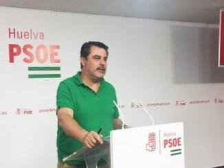 El parlamentario andaluz por el PSOE de Huelva, Jesús Ferrera