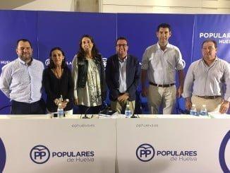 El PP ha celebrado su Junta Directiva Provincial en Valverde del Camino