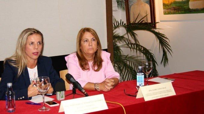 La alcaldesa de Isla Cristina y la delegada de Turismo presentan las actividades del Día Mundial del Turismo
