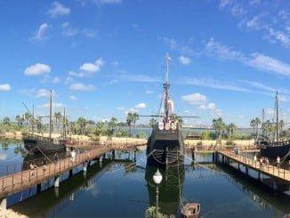 El Muelle de las Carabelas cierra el periodo estival con 62.125 personas