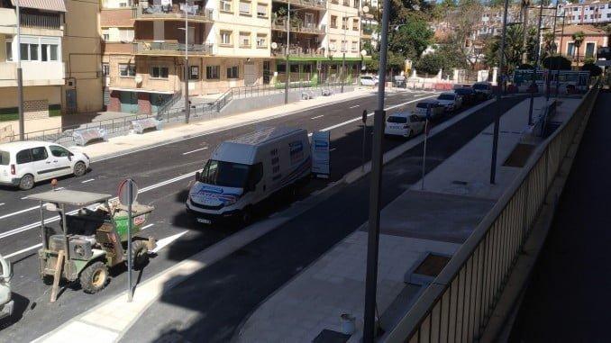 Aspecto que presenta la nueva Avenida de Cádiz