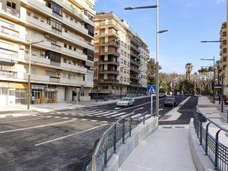 El Ayuntamiento abre al tráfico la calle Padre Laraña, convertida en una amplia avenida