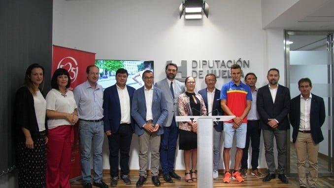 Presentación de la Copa del Mundo de Triatlón de Huelva