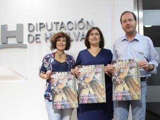 La alcaldesa de Aljaraque, junto a concejales del Ayuntamiento, presenta el Marcado Medieval