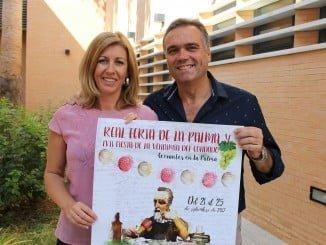 El alcalde de La Palma y la concejala de Festejos presentan la Real Feria de La Palma