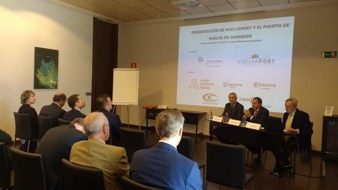 Misión comercial de HuelvaPort en Zaragoza
