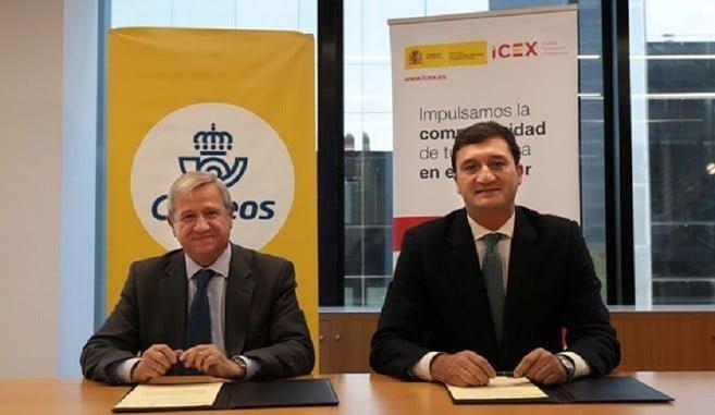 El presidente de Correos y el consejero delegado de ICEX unen sus fuerzas en favor de las pymes